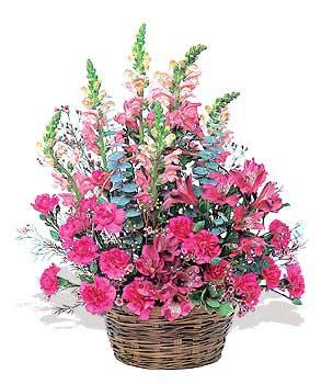 karisik mevsim sepeti   Kars çiçekçi mağazası
