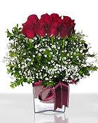 Kars çiçek online çiçek siparişi  11 adet gül mika yada cam - anneler günü seçimi -