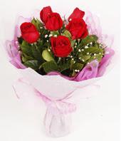 9 adet kaliteli görsel kirmizi gül  Kars 14 şubat sevgililer günü çiçek
