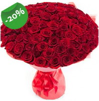 Özel mi Özel buket 101 adet kırmızı gül  Kars çiçek , çiçekçi , çiçekçilik