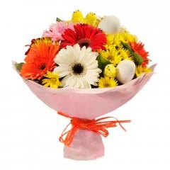 Karışık mevsim buketi Mevsimsel çiçek  Kars çiçek yolla , çiçek gönder , çiçekçi