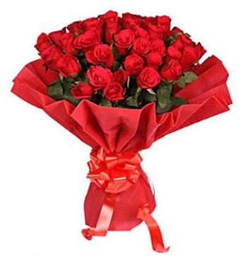 41 adet gülden görsel buket  Kars hediye sevgilime hediye çiçek