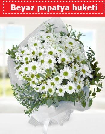 Beyaz Papatya Buketi  Kars çiçek satışı