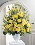 Kars güvenli kaliteli hızlı çiçek  sari güllerden sebboy tanzim çiçek siparisi