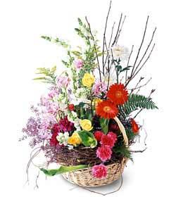 Kars çiçek gönderme sitemiz güvenlidir  Mevsim çiçekleri sepeti