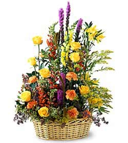 Kars online çiçekçi , çiçek siparişi  mevsim çiçekleri sepeti özel