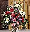 Kars çiçek yolla  cam yada mika Vazo içerisinde kazablankalar