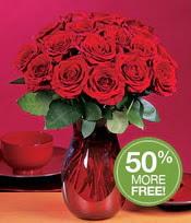 Kars cicekciler , cicek siparisi  10 adet Vazoda Gül çiçek ideal seçim