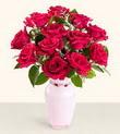 Kars çiçek mağazası , çiçekçi adresleri  10 kirmizi gül cam yada mika vazo tanzim