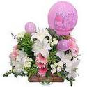 balon ve çiçeklerle tanzim  Kars yurtiçi ve yurtdışı çiçek siparişi