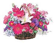 küçük karisik özel sepet   Kars hediye çiçek yolla