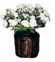 yapay karisik çiçek sepeti   Kars çiçek yolla