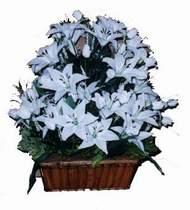 yapay karisik çiçek sepeti   Kars çiçek gönderme sitemiz güvenlidir