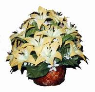 yapay karisik çiçek sepeti   Kars güvenli kaliteli hızlı çiçek