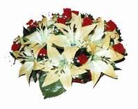 yapay karisik çiçek sepeti   Kars çiçek yolla , çiçek gönder , çiçekçi