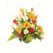 karisik renkli çiçekler tanzim   Kars cicekciler , cicek siparisi