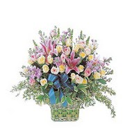 sepette kazablanka ve güller   Kars 14 şubat sevgililer günü çiçek