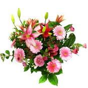 lilyum ve gerbera çiçekleri - çiçek seçimi -  Kars 14 şubat sevgililer günü çiçek