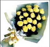 sari güllerden sade buket  Kars çiçek online çiçek siparişi