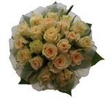 12 adet sari güllerden buket   Kars çiçekçi telefonları