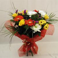 Kars çiçek mağazası , çiçekçi adresleri  Karisik mevsim demeti