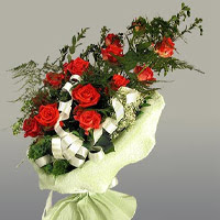 Kars çiçek servisi , çiçekçi adresleri  11 adet kirmizi gül buketi sade haldedir