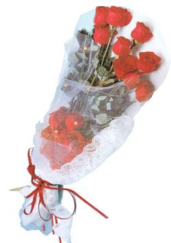 11 adet kirmizi güller buket tanzimi   Kars güvenli kaliteli hızlı çiçek
