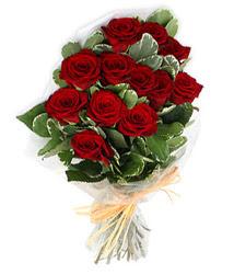 Kars online çiçek gönderme sipariş  9 lu kirmizi gül buketi.