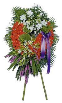 Kars çiçek yolla  cenaze çelengi