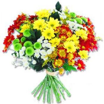 Kir çiçeklerinden buket modeli  Kars çiçek gönderme sitemiz güvenlidir