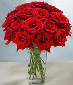 Kars güvenli kaliteli hızlı çiçek  Sevdiklerinize özel ürün 12 adet cam içerisinde kirmizi gül  Kars çiçek mağazası , çiçekçi adresleri