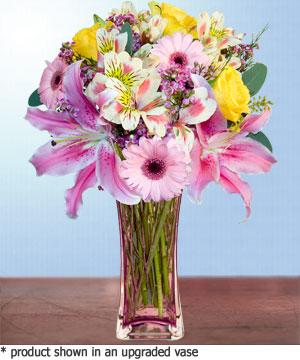 Anneme hediye karisik cam mevsim demeti  Kars çiçek yolla , çiçek gönder , çiçekçi
