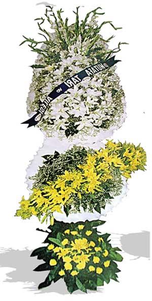 Dügün nikah açilis çiçekleri sepet modeli  Kars çiçek online çiçek siparişi