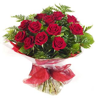 Ucuz Çiçek siparisi 11 kirmizi gül buketi  Kars hediye çiçek yolla