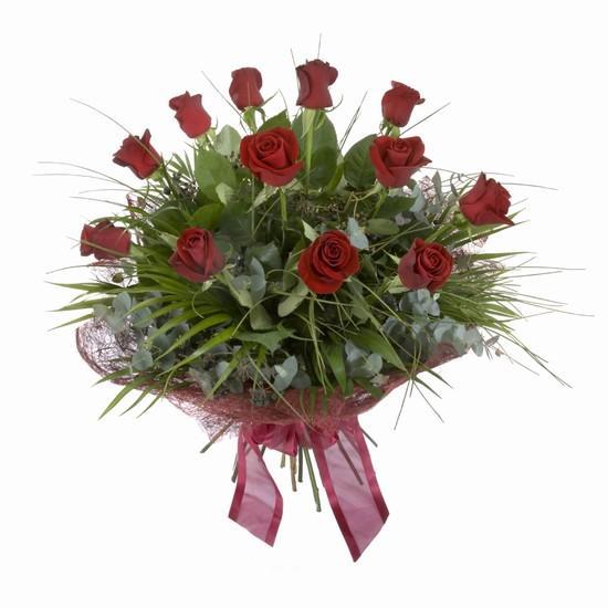 Etkileyici buket 11 adet kirmizi gül buketi  Kars yurtiçi ve yurtdışı çiçek siparişi