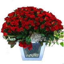 Kars online çiçekçi , çiçek siparişi   101 adet kirmizi gül aranjmani