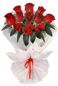 11 adet gül buketi  Kars çiçek yolla , çiçek gönder , çiçekçi   kirmizi gül