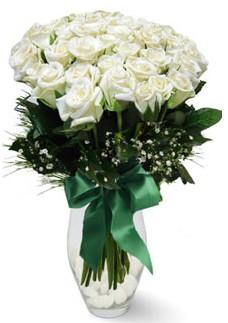 19 adet essiz kalitede beyaz gül  Kars online çiçekçi , çiçek siparişi