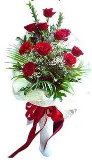 Kars çiçek servisi , çiçekçi adresleri  10 adet kirmizi gül buketi demeti