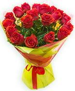19 Adet kırmızı gül buketi  Kars İnternetten çiçek siparişi