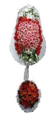 çift katlı düğün açılış sepeti  Kars yurtiçi ve yurtdışı çiçek siparişi