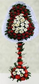 Kars yurtiçi ve yurtdışı çiçek siparişi  çift katlı düğün açılış çiçeği