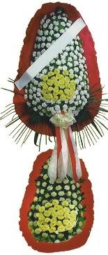 Çift katlı düğün açılış çiçeği  Kars çiçekçi mağazası
