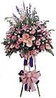 Kars çiçekçiler   Ferforje Pembe kazablanka