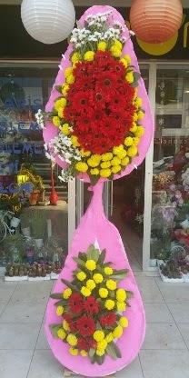 Çift katlı düğün nikah açılış çiçek modeli  Kars online çiçekçi , çiçek siparişi