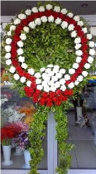 Cenaze çelenk çiçeği modeli  Kars çiçek , çiçekçi , çiçekçilik