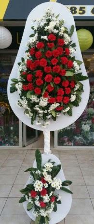 2 katlı nikah çiçeği düğün çiçeği  Kars 14 şubat sevgililer günü çiçek