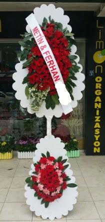 Çift katlı düğün nikah çiçeği modeli  Kars güvenli kaliteli hızlı çiçek