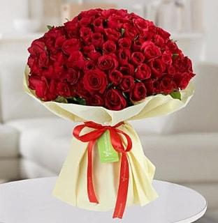 101 adet kırmızı gül buketi koca demet  Kars çiçek yolla , çiçek gönder , çiçekçi
