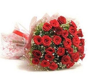 27 Adet kırmızı gül buketi  Kars çiçek servisi , çiçekçi adresleri